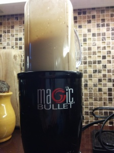 I love my Magic Bullet for making dressings.